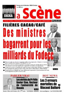 La Scène Hebdo<br>26/10/2016