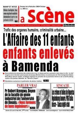 La Scène Hebdo -31/05/2016