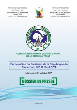 Présidence, République du Cameroun