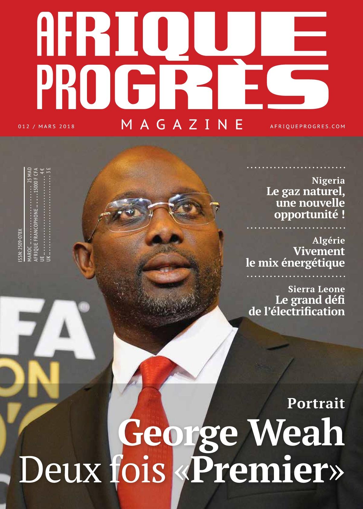 Afrique Progrès- Mars 2018