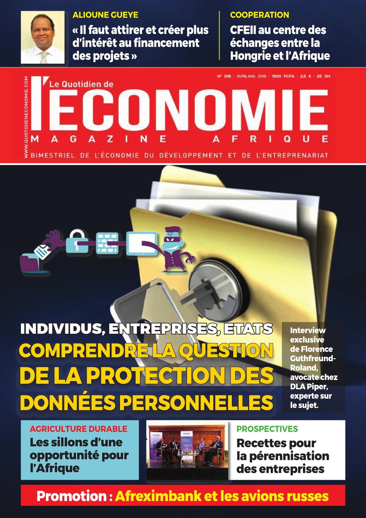Le Quotidien de l'Economie Magazine- 25/04/2018