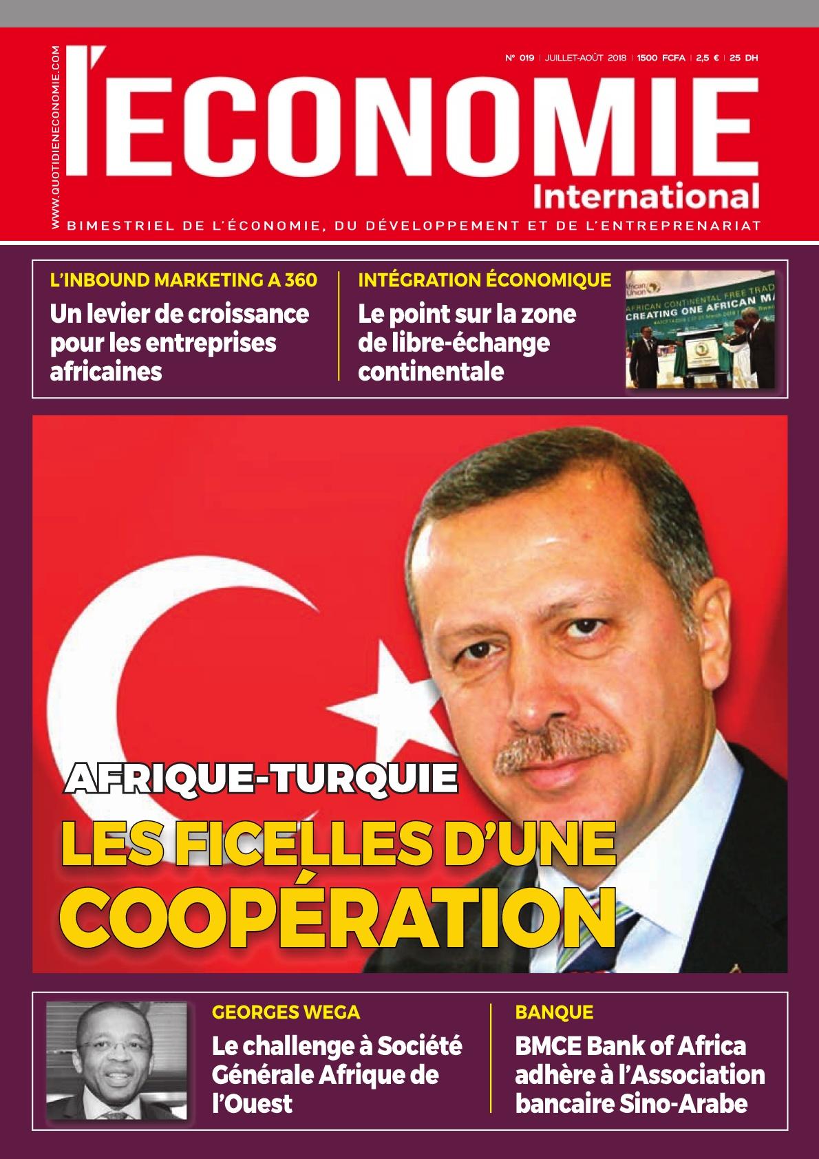 Le Quotidien de l'Economie Magazine - 19/09/2018