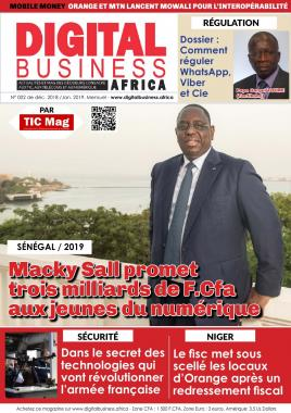 DIGITAL BUSINESS AFRICA - 17/12/2018