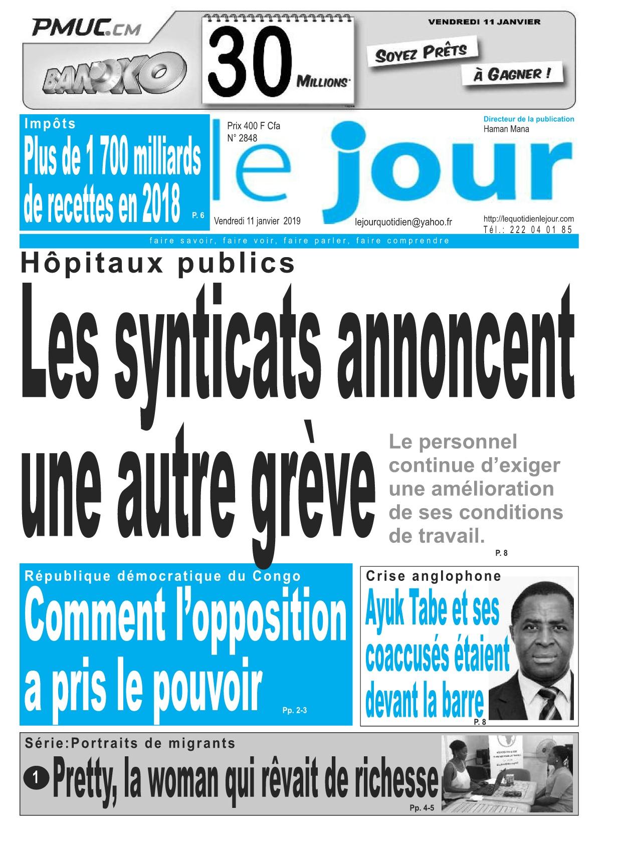 Le Jour <br/> 11/01/2019