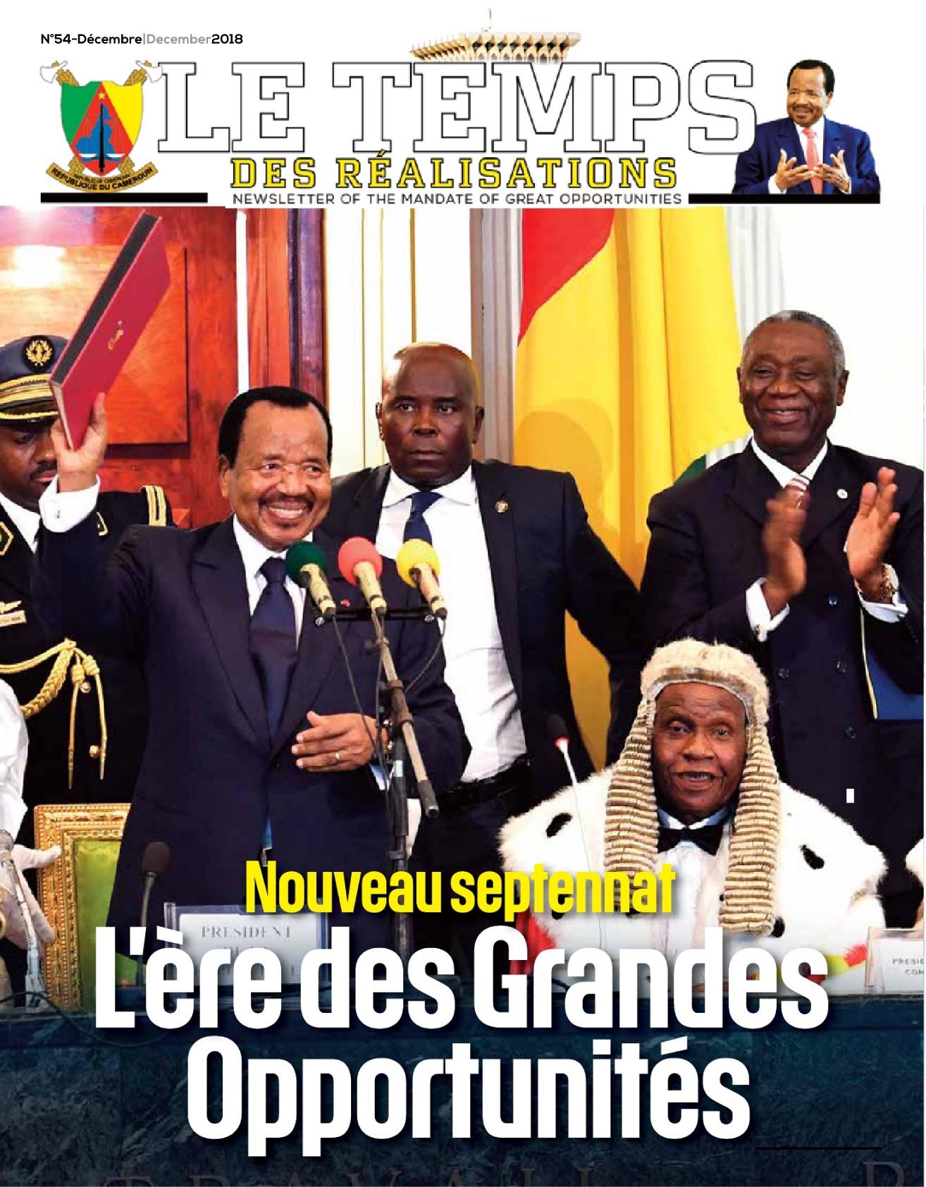 Présidence de la République du Cameroun - 03/01/2019