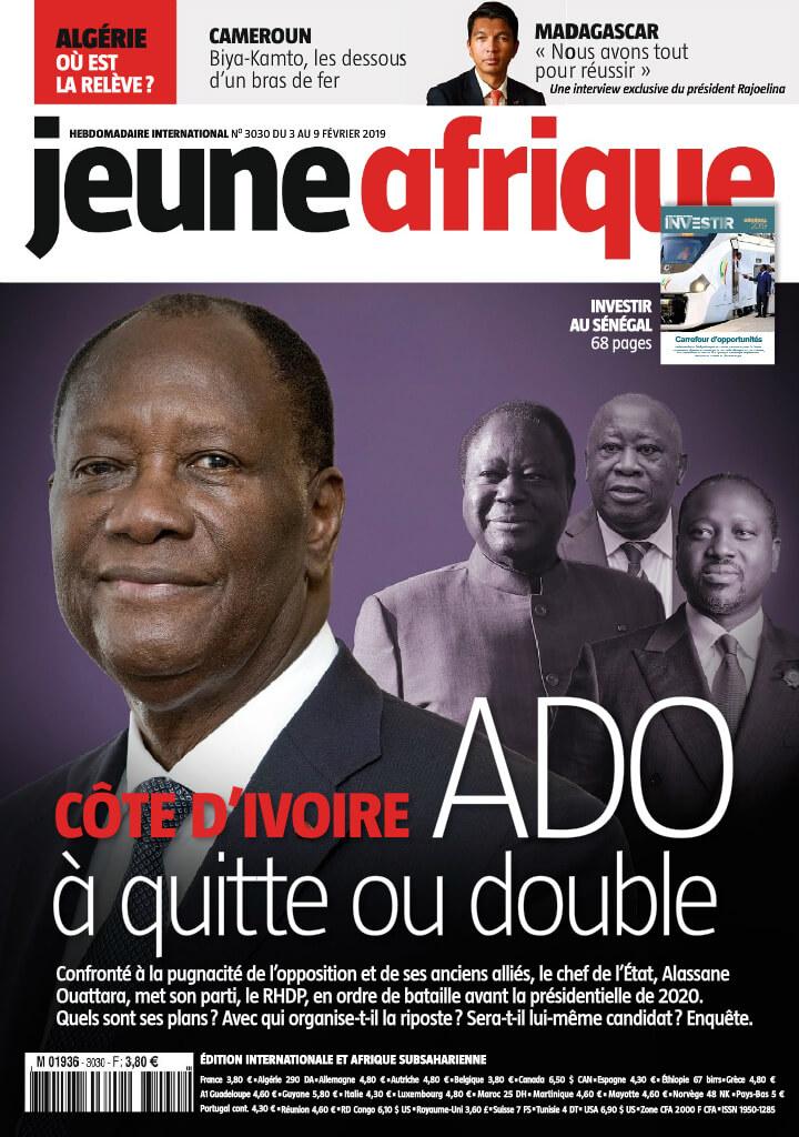 Jeune Afrique<br/> 04/02/2019