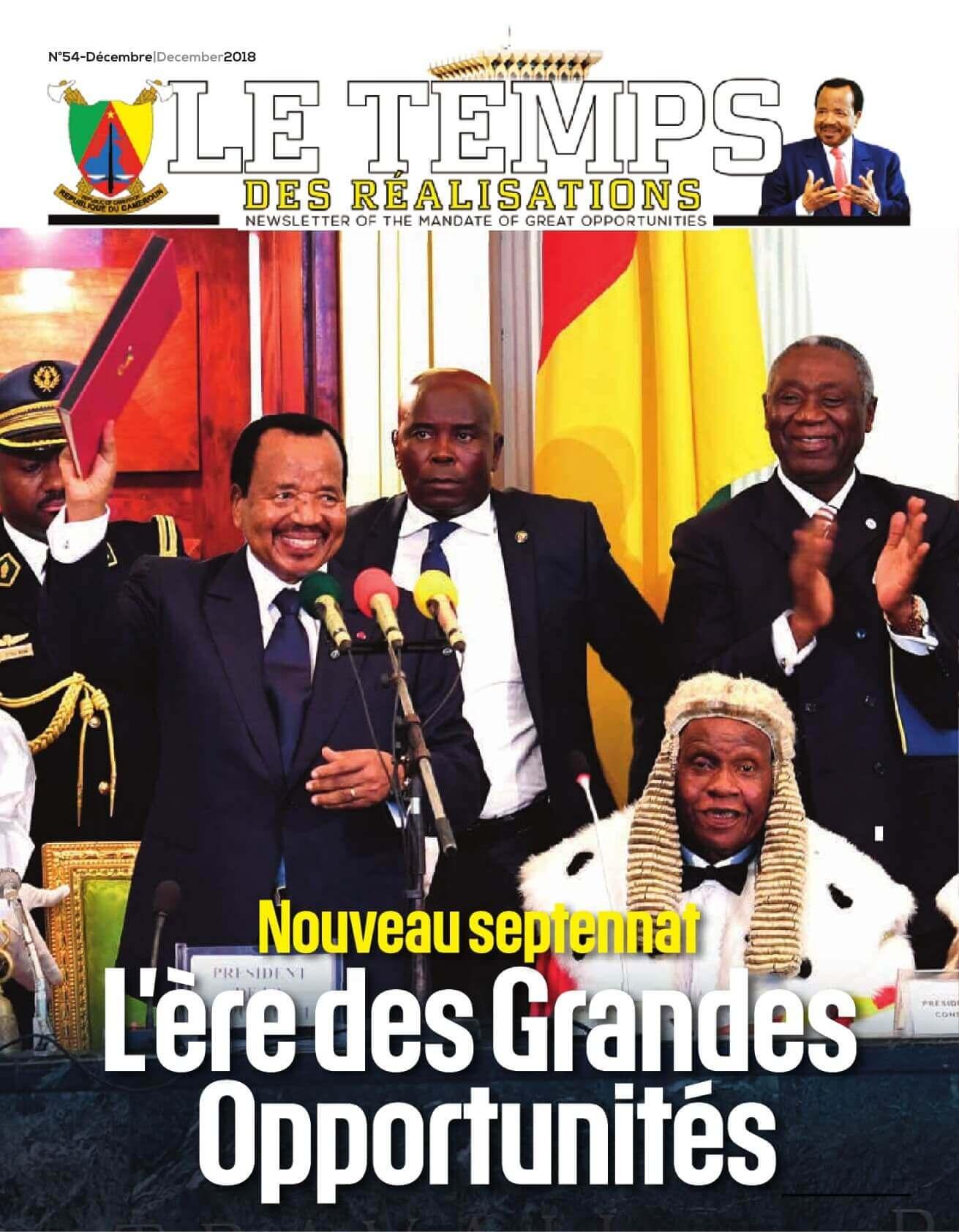 Présidence de la République du Cameroun - 05/02/2019