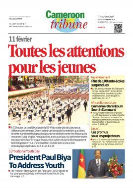Cameroon Tribune - 08/02/2019