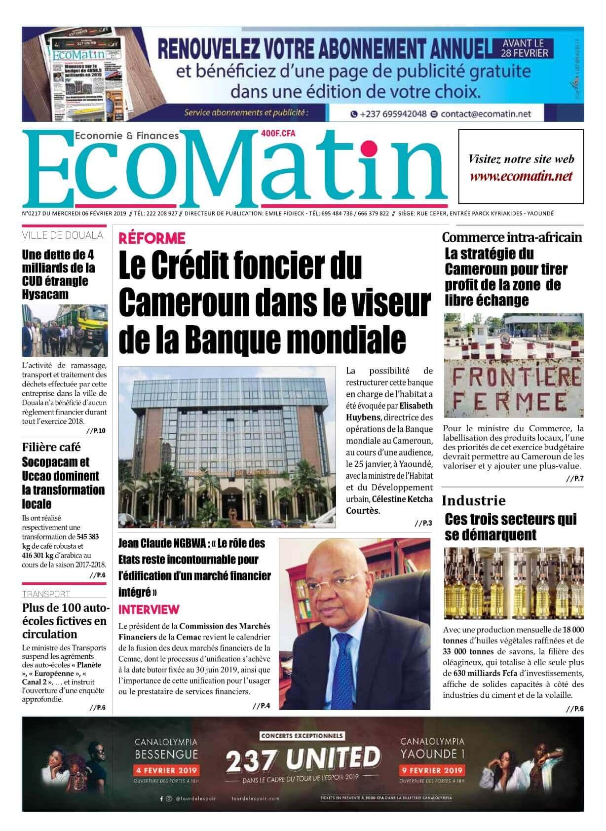 Ecomatin <br/> 06/02/2019