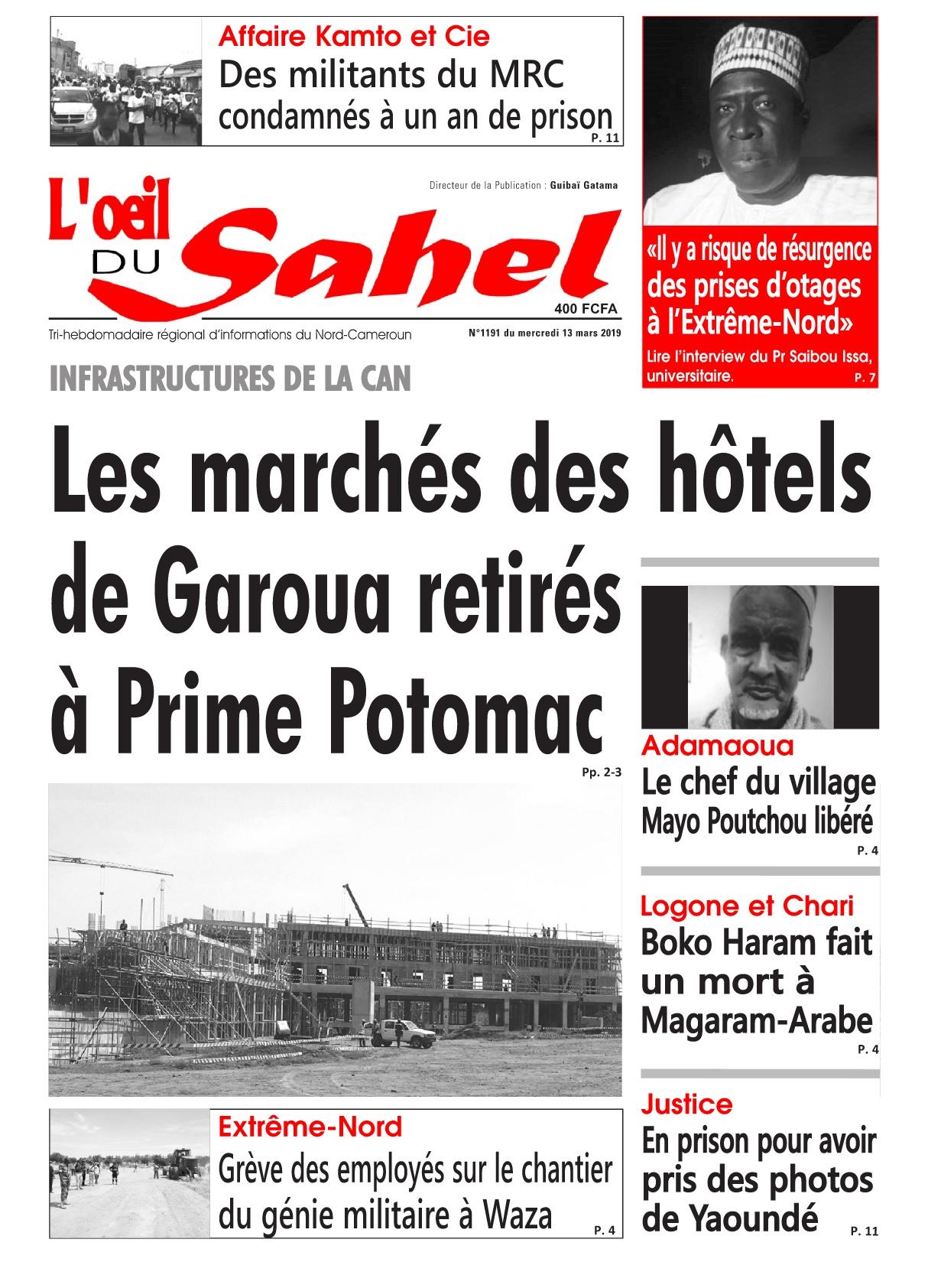 L&#039;oeil du Sahel <br/> 13/03/2019