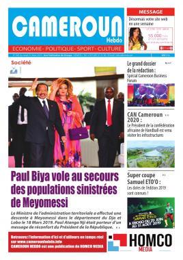 Cameroun Hebdo - 21/03/2019