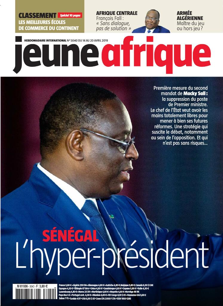 Jeune Afrique <br/> 14/04/2019