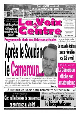 LA VOIX DU CENTRE - 15/04/2019