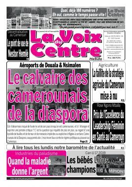 LA VOIX DU CENTRE - 29/04/2019