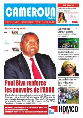 Cameroun Hebdo - 02/04/2019