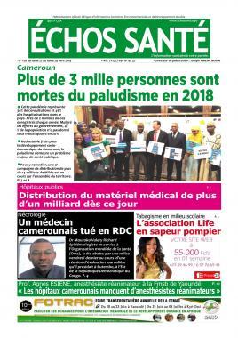 Echos Santé - 22/04/2019
