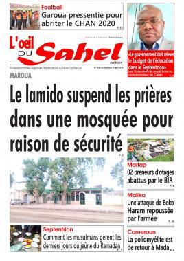 L'oeil du Sahel - 31/05/2019
