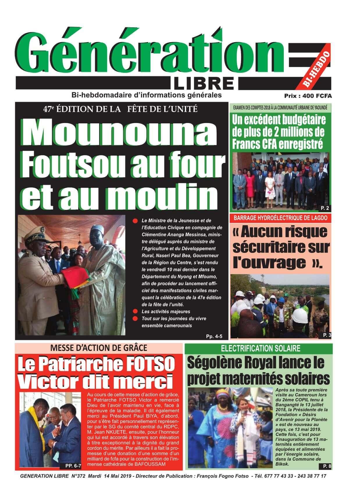 Génération Libre - 14/05/2019