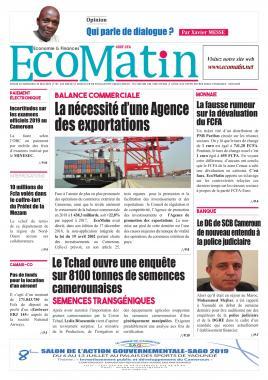 Ecomatin - 22/05/2019