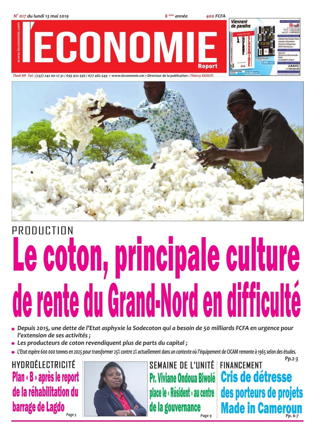Le Quotidien de l'Economie - 13/05/2019