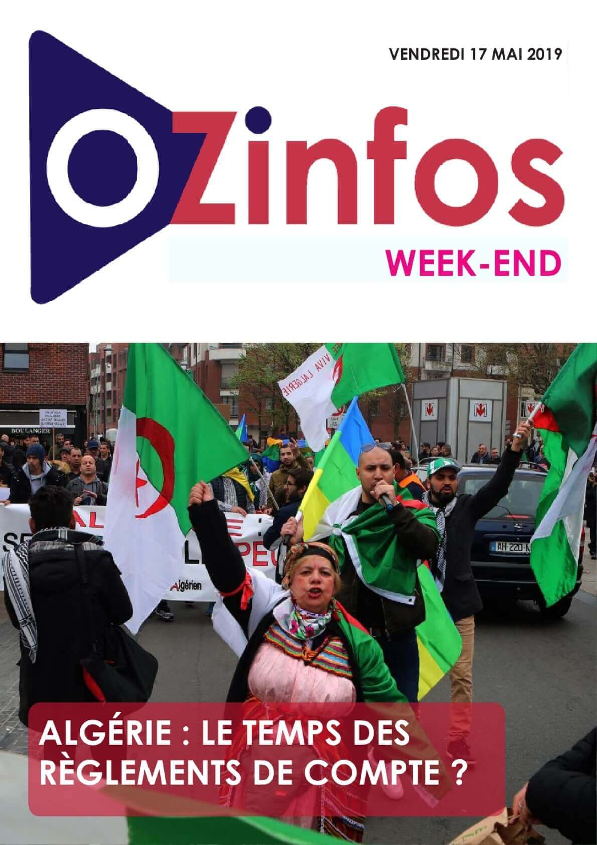 OZINFOS QUOTIDEN - 17/05/2019