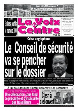 LA VOIX DU CENTRE - 06/05/2019