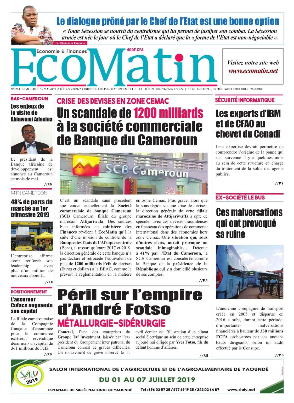 Ecomatin <br/> 15/05/2019