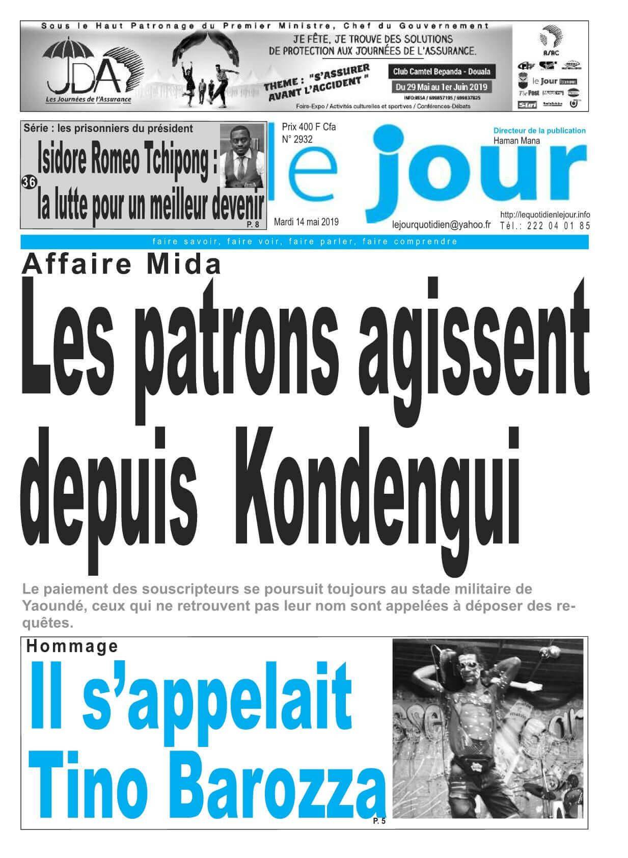 Le Jour - 14/05/2019