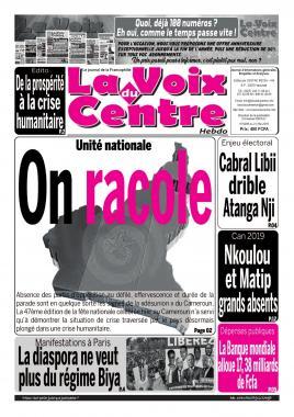 LA VOIX DU CENTRE - 21/05/2019