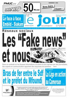 Le Jour - 03/05/2019
