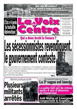 LA VOIX DU CENTRE - 03/06/2019