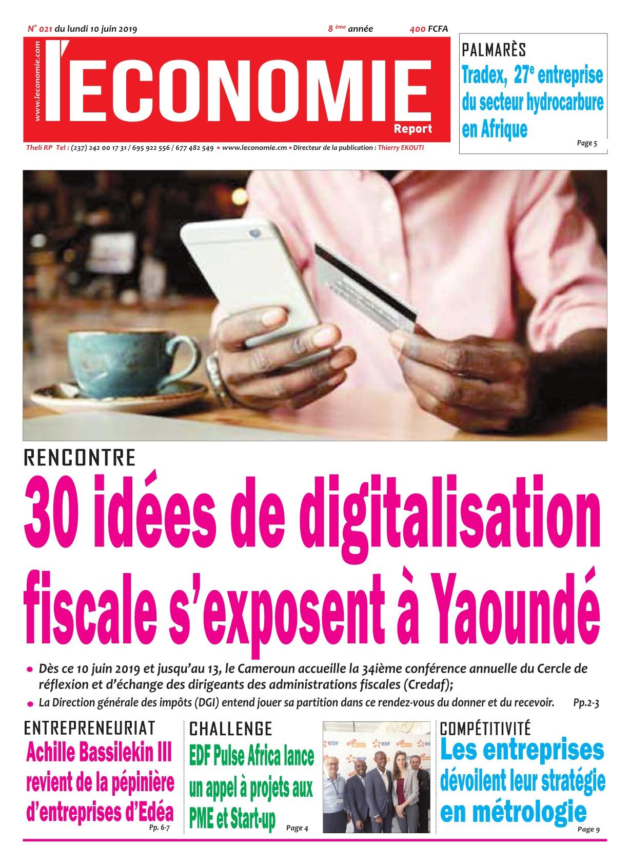 Le Quotidien de l'Economie - 10/06/2019
