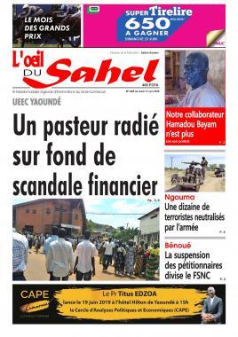 L'oeil du Sahel - 17/06/2019