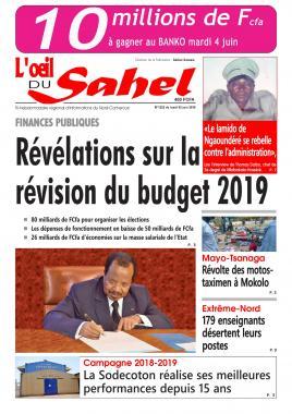 L'oeil du Sahel - 03/06/2019