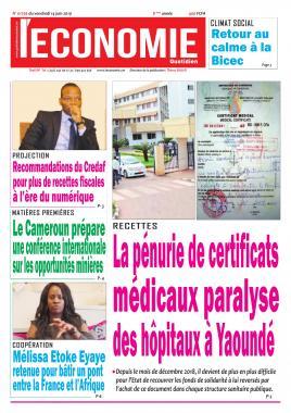 Le Quotidien de l'Economie - 14/06/2019