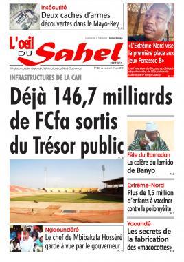 L'oeil du Sahel - 07/06/2019
