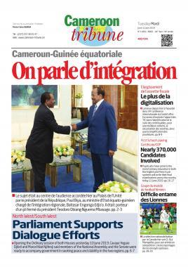 Cameroon Tribune - 11/06/2019