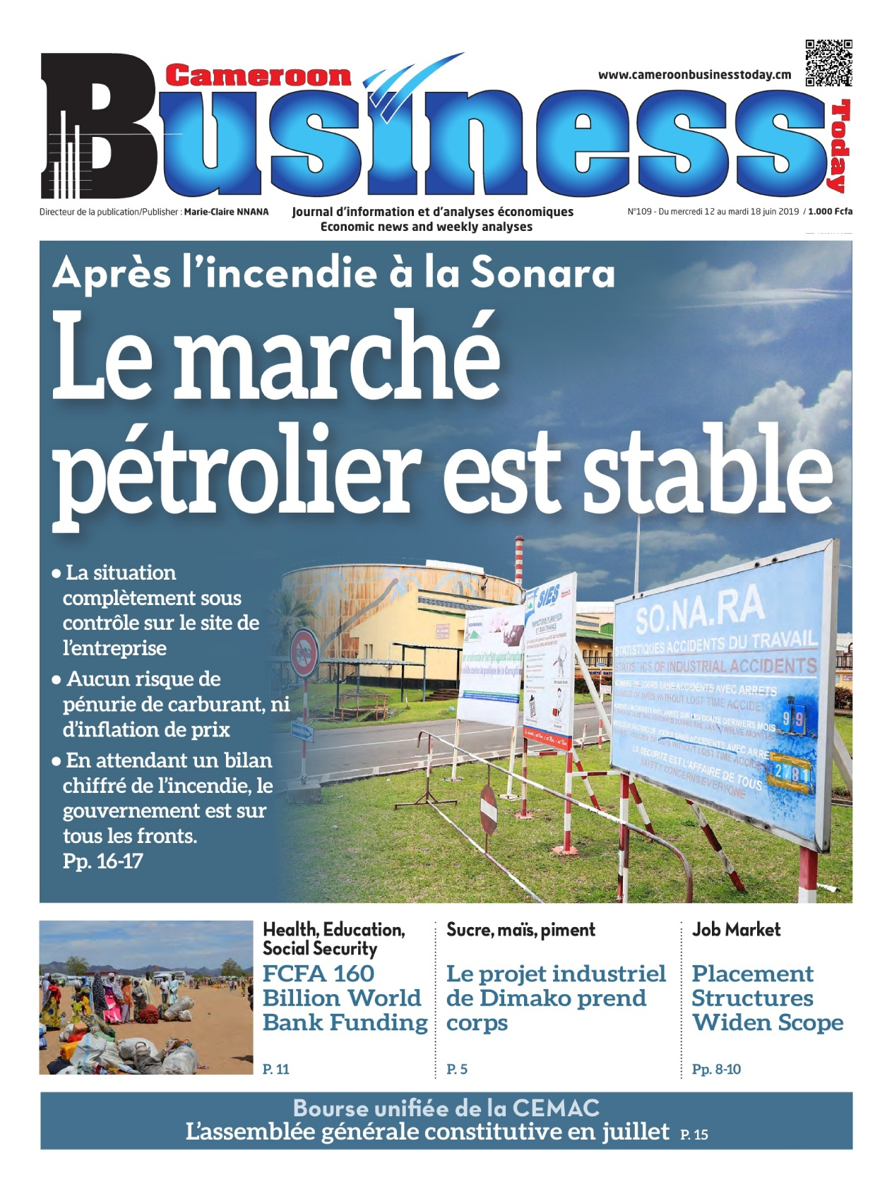 Cameroon Business - 12/06/2019