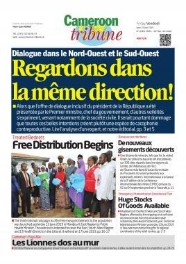 Cameroon Tribune - 14/06/2019