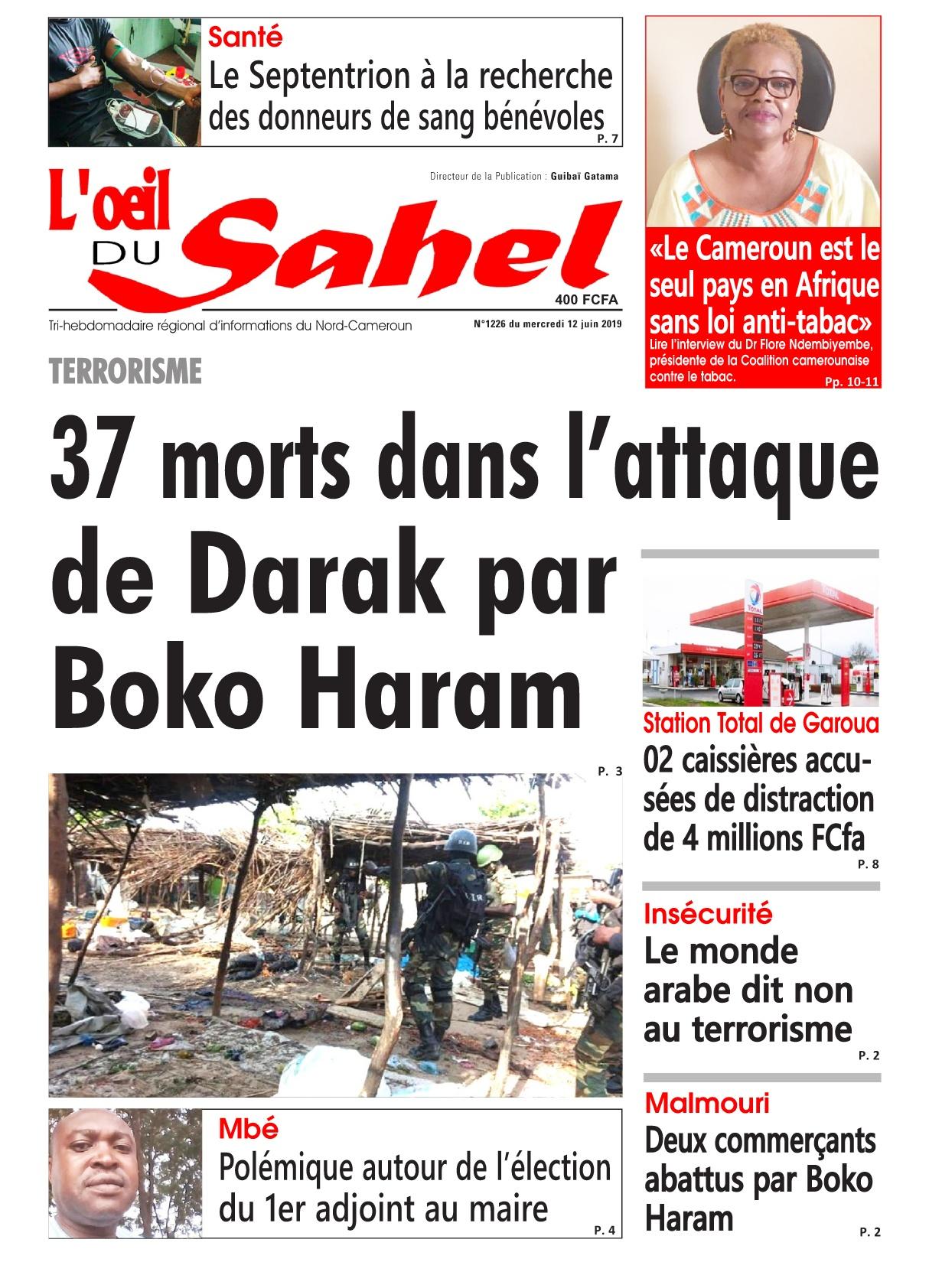L'oeil du Sahel - 12/06/2019