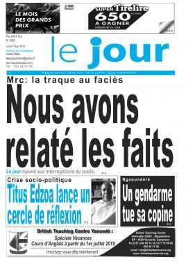 Le Jour - 17/06/2019