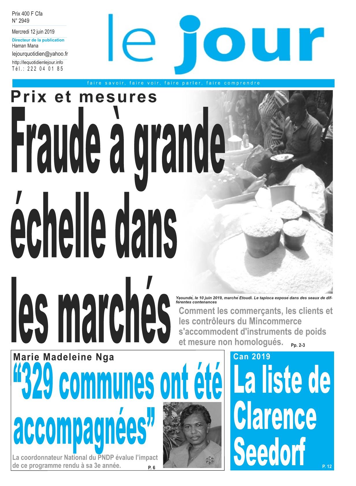 Le Jour - 12/06/2019
