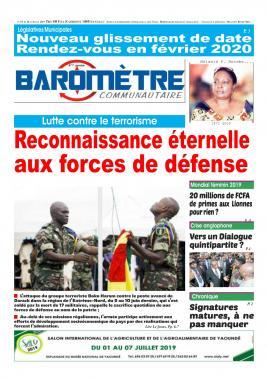 Baromètre - 20/06/2019
