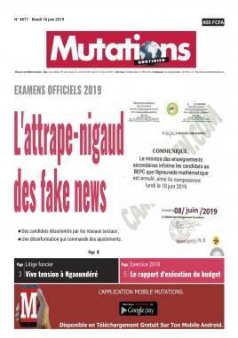 Mutations - 18/06/2019