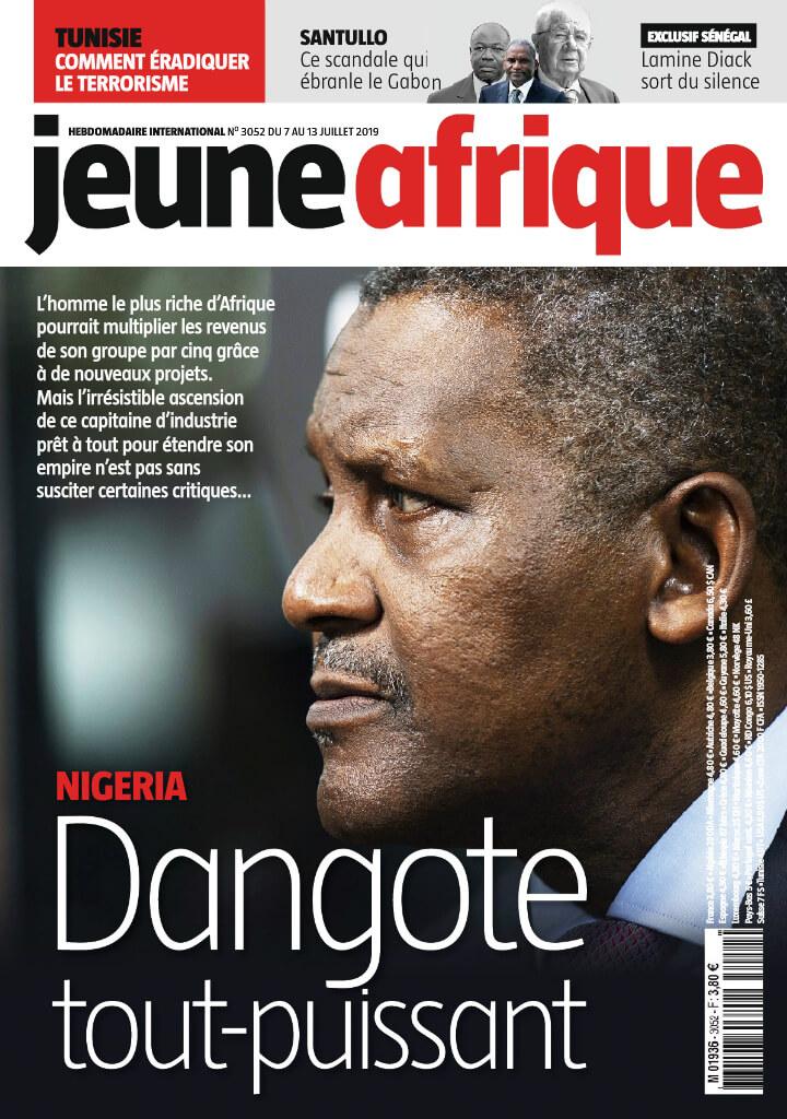Jeune Afrique  - 07/07/2019