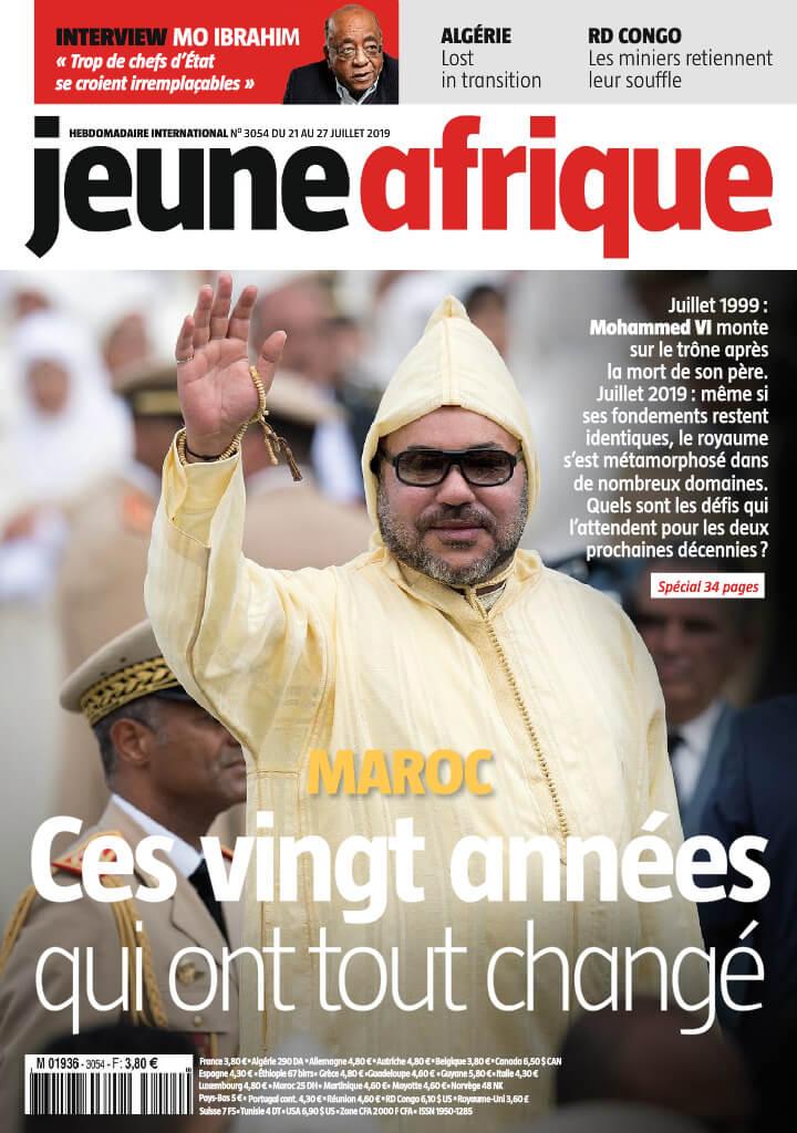Jeune Afrique - 22/07/2019