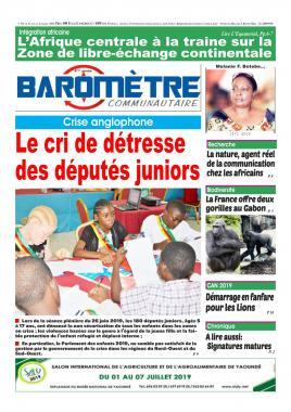 Baromètre - 01/07/2019