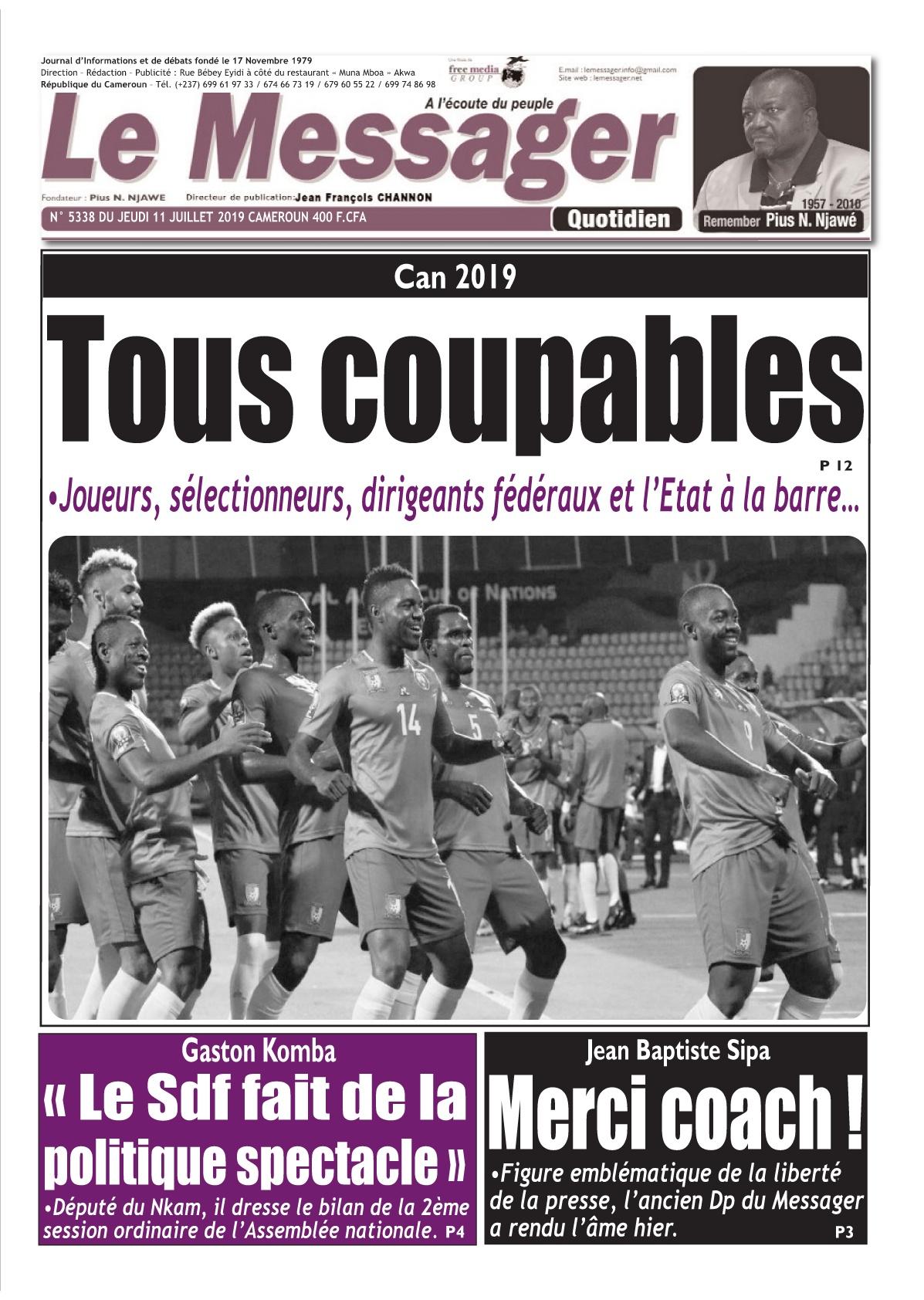 Le Messager - 11/07/2019