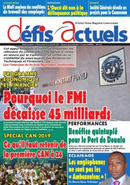 Défis Actuels - 22/07/2019