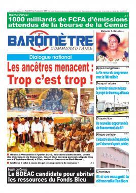 Baromètre - 19/07/2019